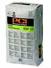 PCI OSP 31 25 kg Bodenspachtel Selbstverlaufende Bodenausgleichsmasse 0,5 - 10mm