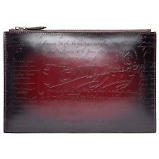 TERSE Second bag leather lightweight Clutch back wine-red Japan F/S New