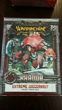 Warmachine Khador Extreme Juggernaut Box
