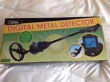 National Geographic Digital Metal Detector large coil