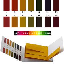 80Stk 1-14 pH-Wert Teststreifen Indikatorpapier Alkalinität Säure Wassertest