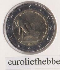 Malta    2 Euro Commemorative 2011  ( Eerste gekozen vertegenwoordiger in 1849)