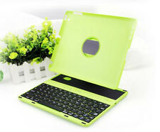 Cover Case with Swivel Rotary Stand Wireless Bluetooth Keyboard for iPad 2 3 4