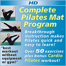 Complete Pilates Mat Program - Exercise Without Equipment or a Gym - HD Download