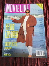 MOVIELINE - USA FILM MAGAZINE- MAY 1991 - KEVIN COSTNER -THERESA RUSSELL
