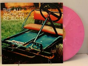 THE ALL AMERICAN REJECTS PINK VINYL ALBUM GO KART COVER PICTURE