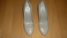 JS by Jessica Jessica Simpson Gray Heels Womens Size 81/2 B NWOB