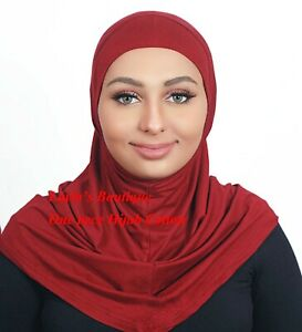 One piece Pure Cotton Standard   Al-Amira Hijabs 1 pc hijab scarf