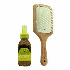 Macadamia Natural Oil Infused Paddled Brush and Healing Oil Spray 125ml