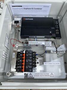 Enphase, IQ Combiner Box, With IQ Envoy, X-IQ-AM1-240-B