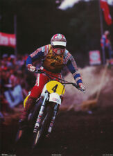 LOT OF 2 POSTERS : SPORTS :MOTOCROSS: #4      FREE SHIPPING !   #90346   LP56 N