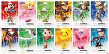 NEW Nintendo Super Smash Brothers Amiibo Series Sealed in Box Bros USA Version