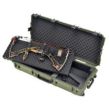 "Skb iSeries Parallel Limb Double Bow/Rifle Case 40""x16""x6.5 4; Olive"