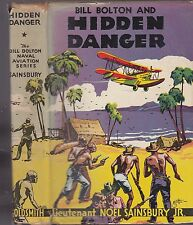 SAINSBURY-BILL BOLTON AND HIDDEN DANGER    - WITH DUST JACKET