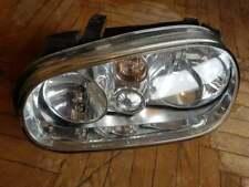 VW Golf MK4 1998-03 Front Left Passenger Side Headlight, Lamp, RHD, 1J2941017A