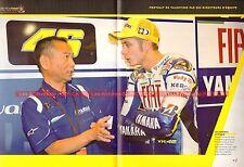 Valentino ROSSI 32 Portrait de Valentino par ses directeurs d'équipe ! MOTO 46