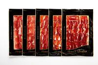 LONCHEADO  A CUCHILLO DE JAMÓN IBÉRICO BELLOTA 5 sobres de 100 gramos cada uno