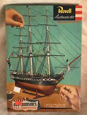 1956 REVELL OLD IRONSIDE USS CONSTITUTION MODEL KIT # H-319:298