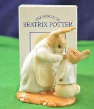 Beatrix Potter, Royal Albert 'Mrs Rabbit & Peter Free Box LOOK F928