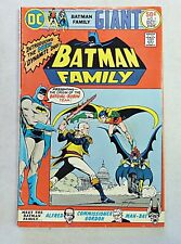Batman Family Giant Size 1 DC Comics Bronze Age 1975 VFN- 2nd Bat Girl Robin
