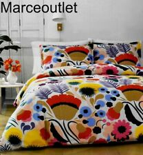 New ListingMarimekko Ojakellukka Full / Queen Comforter & Shams Multi Color