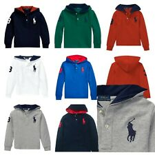 Genuine Boys Ralph Lauren Big Pony Hoodie Top T shirt - Factory Surplus outlet