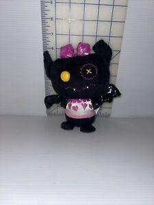 "Monster High Count Fabulous Black Bat Plush Draculaura's Pet Just Play Mattel 6"""