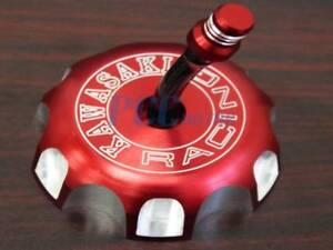RED CNC BILLET FUEL GAS CAP VENT For KAWASAKI KFX 450R KX250 YZ125 KLX450R GC11