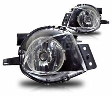 2006-2008 BMW E90 E91 FRONT BUMPER REPLACEMENT CLEAR FOG LIGHTS LAMPS PAIR SET