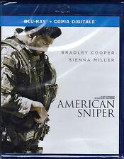 Blu-ray **AMERICAN SNIPER** nuovo 2014