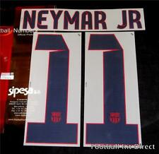 Barcelona Neymar 11 2012/14 Football Shirt Name/Number Set Away Player Size