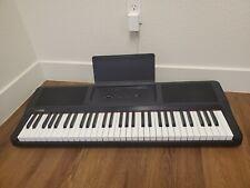 The ONE Light 61-Key Portable Keyboard Electronic Smart Keyboard Piano, Black