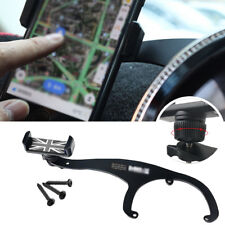 Black Union Jack Smart Cell Phone GPS Mount Holder Fits BMW Mini Cooper R60 R61