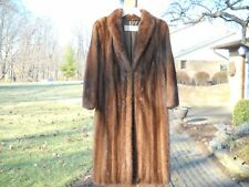 Womens Full length Elder-Beerman Lunaraine MINK COAT w/ Appraisal~EC!
