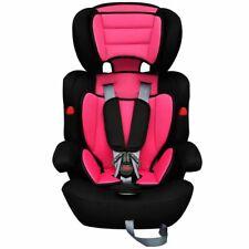 vidaXL Seggiolino Auto con Cinghie Rosa/Nero Trasporto Sicurezza per Bambini