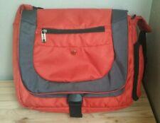 Swiss Gear Orange Travel Laptop Shoulder Bag Carry-On Luggage