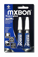 MXBON Superglue Gel 2x3g x18