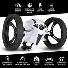 US Wireless RC Bounce Car 2.4G Jumping Sumo Robot Toy 360 Ration Led Light Music