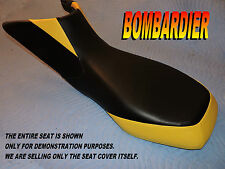 Bombardier Can Am DS650 New seat cover 2000-07 CanAm DS 650 Black/yellow 815B