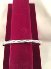 Navajo Sterling Silver Cuff Bracelet by Bruce Morgan