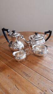 1930s Silver Plate Tea Set