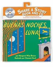 Goodnight Moon Book and CD (Spanish edition): Buenas noches, Luna libr-ExLibrary