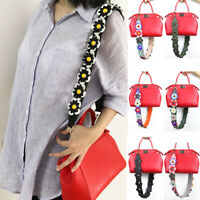 2019 Women Strap Colorful Flower Leather Bag Handbag Replacement Accessories