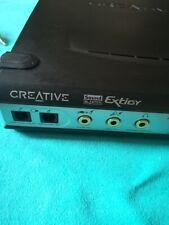 Creative Labs Sound Blaster Extigy + Microfono MC1000 + Alimentatore