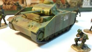 1/72 LOT FORCES OF VALOR GERMAN Panzergrenadier Panzer III Tank Built-Up Painted