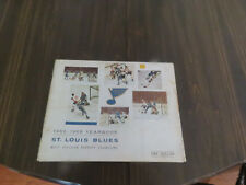 St Louis Blues 1968-69 Yearbook !Rare!