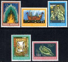 "(Ref-12393) Vatican City 1974 Int.Book Year ""The Bible SG.609/613 Mint (MNH)"