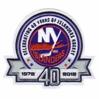 NEW YOURK ISLANDERS 40TH ANNIVERSARY JERSEY PATCH NHL JERSEY PATCH