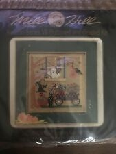 "MILL HILL BUTTONED & BEADED CROSS STITCH KIT AUTUMN SERIES VII ""SPOOKY GARDEN"""