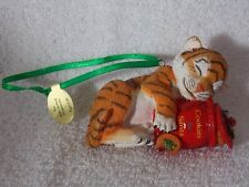 Danbury Mint Baby Animal Tiger Club Christmas Ornament